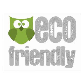 Eco Friendly design! Postcard