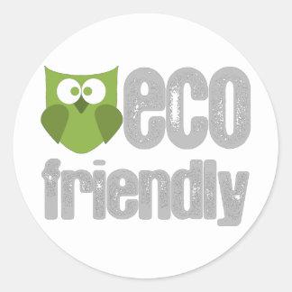 Eco Friendly design Stickers