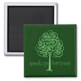 Eco-Friendly Earth-Friendly Love Trees Refrigerator Magnet
