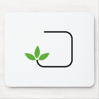Eco friendly graphic mouse mat