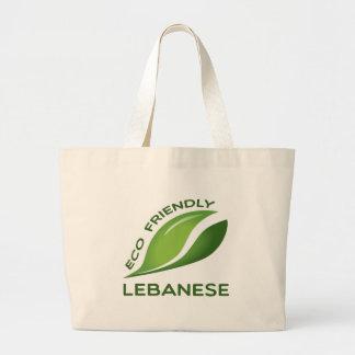 Eco Friendly Lebanese. Jumbo Tote Bag