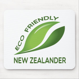 Eco Friendly New Zealander. Mouse Pad