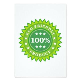 ECO Friendly Product 9 Cm X 13 Cm Invitation Card