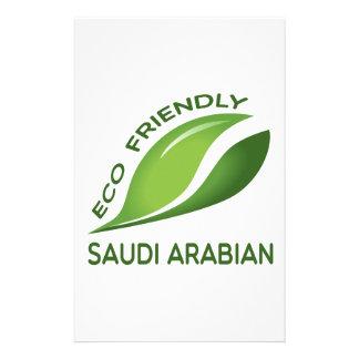 Eco Friendly Saudi Arabian. Customised Stationery