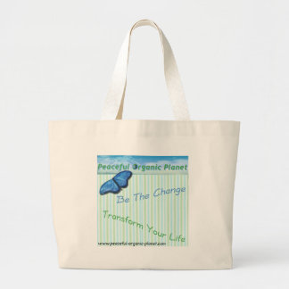 Eco - Friendly Shopping Tote Bag by P.O.P