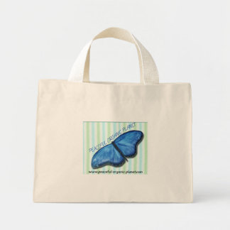 Eco-Friendly Shopping Tote Bag - P.O.P  butterfly