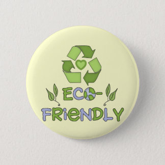 Eco-Friendly T-shirts and Gifts 6 Cm Round Badge