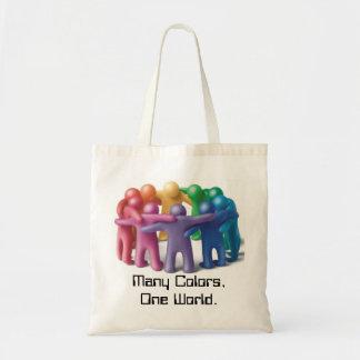 Eco Friendly Tote!!  Celebrate Diversity!! Tote Bag