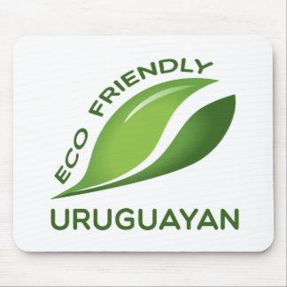 Eco Friendly Uruguayan. Mouse Pad