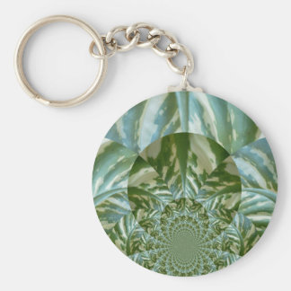 Eco - Going Green Environmental Friendly Colors Key Chain