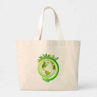 Eco Nuevo Jumbo Tote Bag