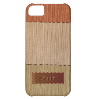 Eco Organic Natural Fiber iPhone 5 Case