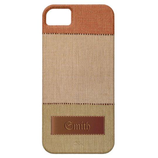 Eco Organic Natural Fibre iPhone 5 Case