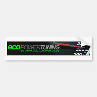 Eco Power Tuning Bumper Sticker