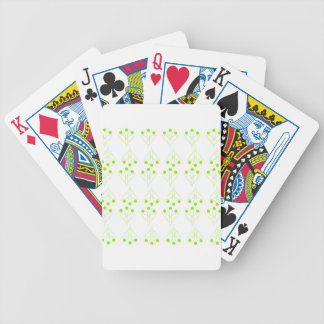 Eco tree bicycle playing cards