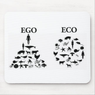 Eco vs Ego Mouse Mat