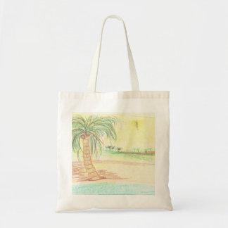 Ecobag beach budget tote bag