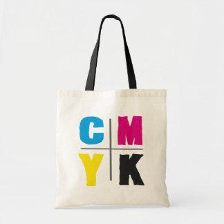 Ecobag CMYK Tote Bag