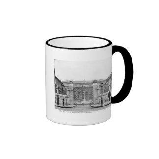 Ecole Nationale Superieure des Beaux-Arts Ringer Coffee Mug