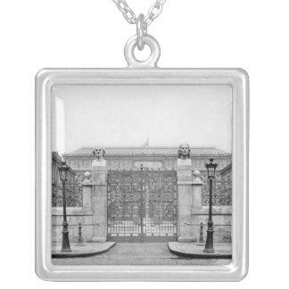 Ecole Nationale Superieure des Beaux-Arts Silver Plated Necklace