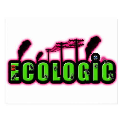 ecologic tarjeta postal