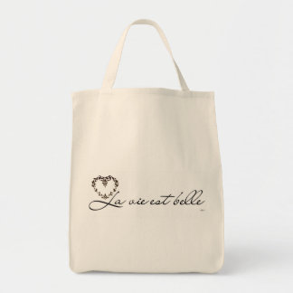 Ecological bag - the life is beautiful
