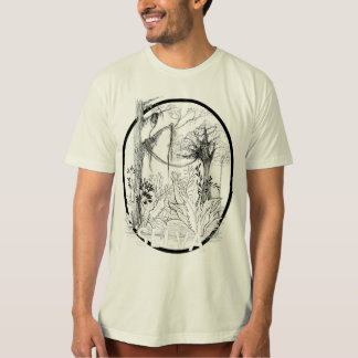 Ecological t-shirt of American Apparel, Natural