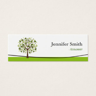 Ecologist - Wishing Tree of Hearts Mini Business Card