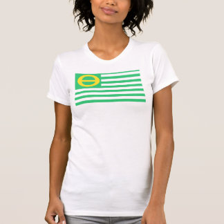 Ecology Flag Ladies' Camisole T-Shirt
