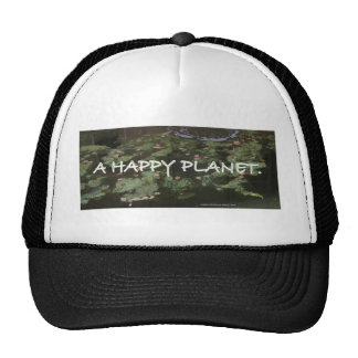 ECOLOGY SAVE OUR PLANET HAT