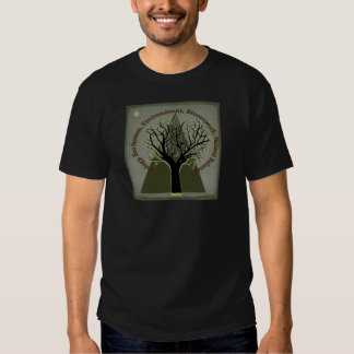 Ecology Tree, Think Green Tees