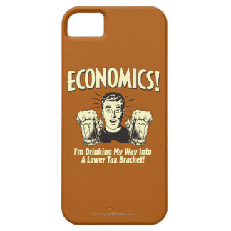 Economics: Drinking Lower Tax Bracket Barely There iPhone 5 Case