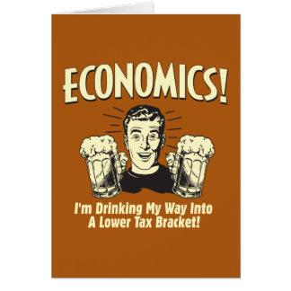 Economics: Drinking Lower Tax Bracket Card