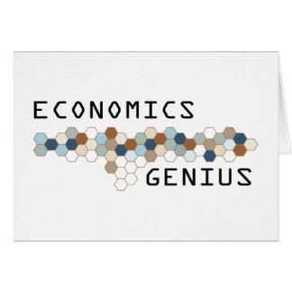Economics Genius Greeting Cards