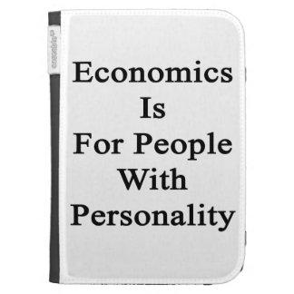 Economics Is For People With Personality Kindle 3 Cover