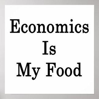 Economics Is My Food Poster