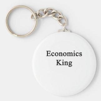 Economics King Basic Round Button Key Ring