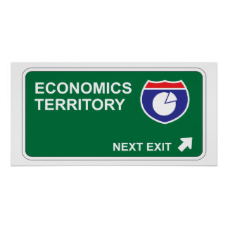 Economics Next Exit Poster