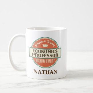 Economics Professor Personalized Office Mug Gift