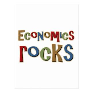Economics Rocks Postcard