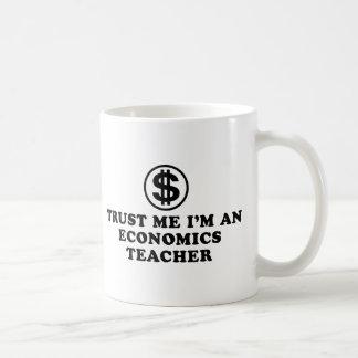 Economics Teacher Basic White Mug