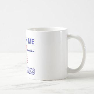 ECONOMICS teacher design Basic White Mug