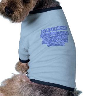 Economics Teacher Drinking Team Ringer Dog Shirt