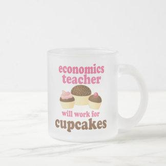 Economics Teacher (Funny) Gift Frosted Glass Mug