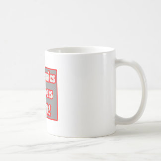 Economics Teachers Rock! Basic White Mug
