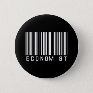 Economist Bar Code 6 Cm Round Badge