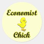 Economist Chick Sticker