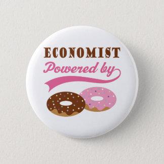Economist Gift (Donuts) 6 Cm Round Badge