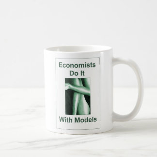 Economists Do It With Models Basic White Mug