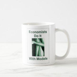 Economists Do It With Models Basic White Mug